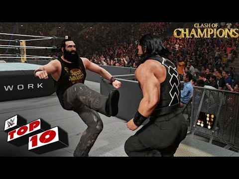 WWE 2K19 - Top 10 Clash of Champions 2019 Moments!