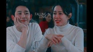 Gambar cover Joon Hee & Jin Ah    Falling in love    Pretty Noona Who Buys Me Food - 밥 잘 사주는 예쁜 누나