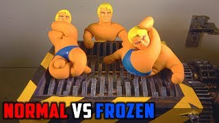 Shredding Two Stretch Armstrong Toys | PressTube - Video Youtube