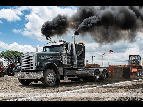 Semi Truck Pulls @ Richmond Fair 2018 by ASTTQ 4K - смотреть