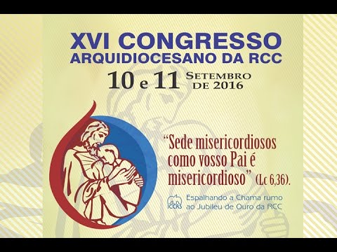 Convite de Maria Beatriz Spier para o XVI Congresso Arquidiocesano da RCC