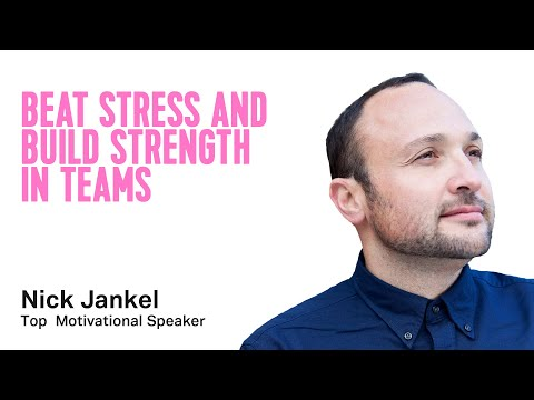 Keynote Topic: Wellbeing At Work: Beat Stress and Build Strength In Teams