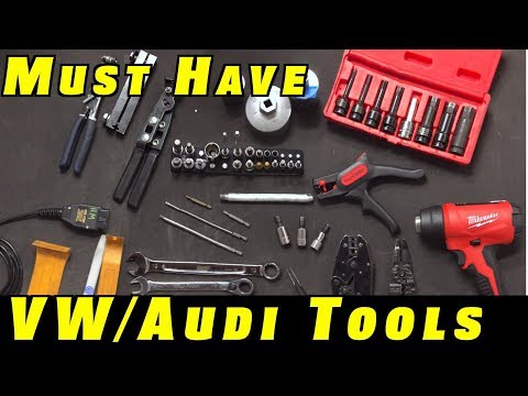 15 Must Have Tools For VW and Audi Repairs
