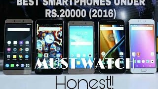 Best Phones Under Rs 20000 For January 2017