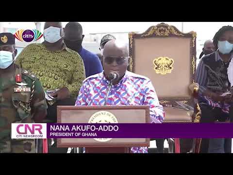 Akufo-Addo commissions first phase of Obetsebi Lamptey interchange | Citi Newsroom