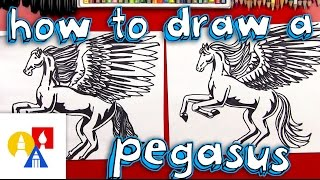 How To Draw A Realistic Pegasus (Part 2)