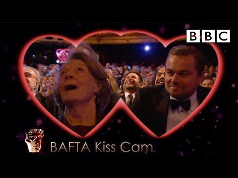 Líbací kamera na cenách BAFTA