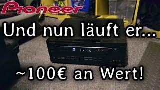 Guter Verstärker/Reciver vom Sperrmüll für 0€ REPARIERT!