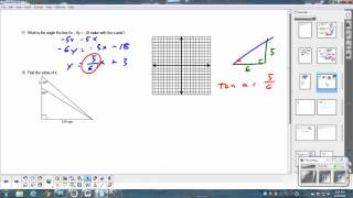 PreAP Geometry Right Triangles Review