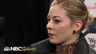 Gracie Gold, 'You can't get anywhere until you start the car' I NBC Sports