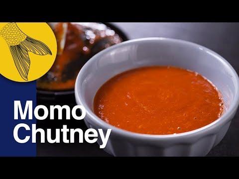 Momo Chutney | Easy Red Chilli Chutney For Momos | Red Hot Dipping Sauce | Kolkata Street Food