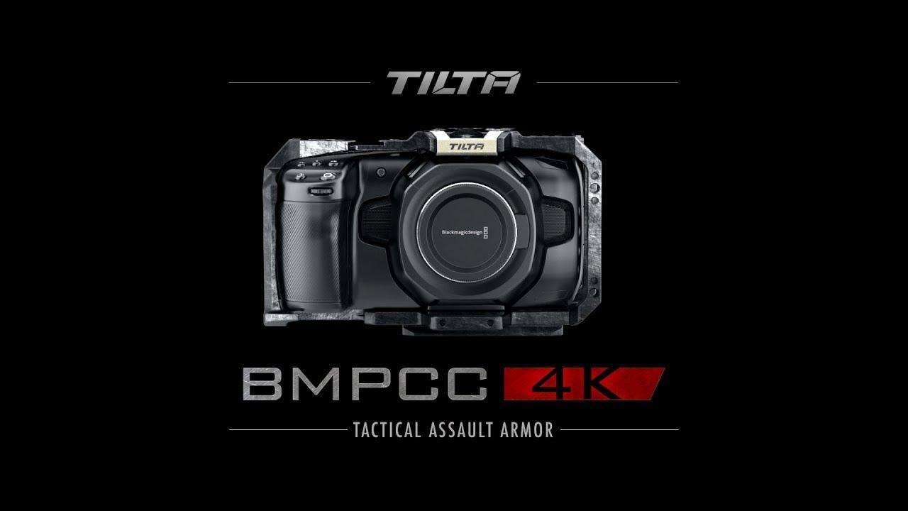 Buy Tilta Ta T01 Hcc Tat01hcc Half Camera Cage For Blackmagic Pocket Cinema Camera 4k 6k Tactical Grey