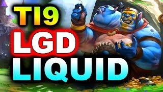 LIQUID vs LGD - GREAT GAME! - TI9 INTERNATIONAL 2019 DOTA 2