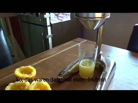 Hebel-Zitruspresse-was taugt sie?