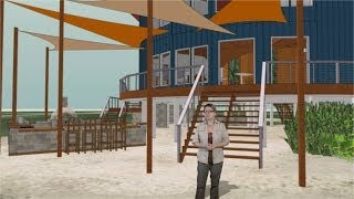 preview picture of video 'Exnihilo Art Center - Building Walkthrough'