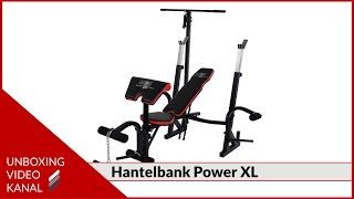 Hantelbank Set Power XL - Unboxing Video