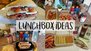 WHAT'S IN MY HUSBAND LUNCHBOX? | LUNCH IDEAS | Crystal Evans