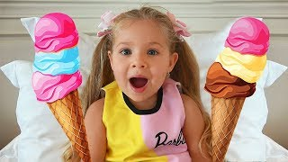 Do You Like Spaghetti Ice Cream? Super Simple Song by Kids Diana Show