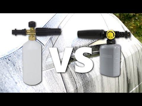 Kärcher FJ6 vs. Snow Foam Lance