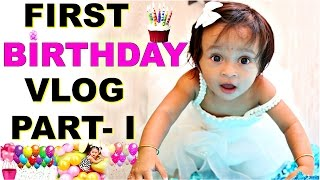 ANA First Birthday Part -1 | A Day In My Life VLog | ShrutiArjunAnand