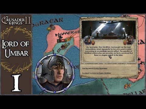 Crusader Kings 2: Middle Earth Project: Umbar #1 - A New