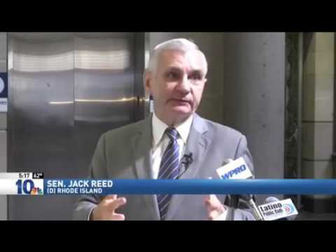 NBC 10 Story on Senator Reed's Rail Safety Efforts