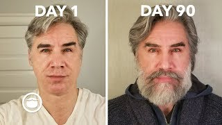 Beard Growth Time Lapse of 90 Days | Greg Berzinsky