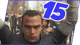 The CRAZIEST Episode Yet! Things Get WILD! - Detroit: Become Human Walkthrough Ep.15