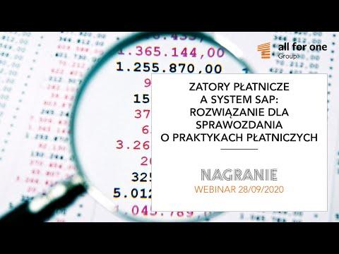 Zatory płatnicze a system SAP – rozwiązanie dla sprawozdania o praktykach płatniczych