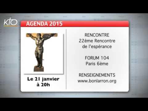 Agenda du 16 janvier 2015
