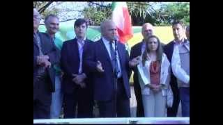 preview picture of video 'Lariano ringraziamento alla cittadinanza del nuovo Sindaco Maurizio Caliciotti'
