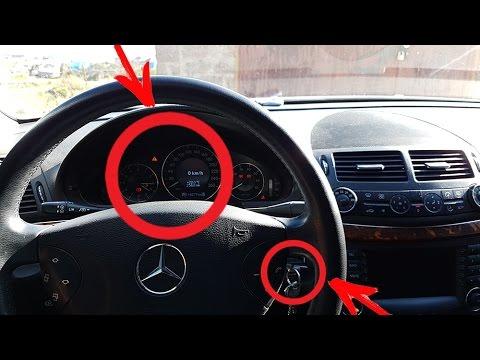Как сбросить Адаптации дроссельной заслонки на Mercedes / Сброс Адаптации дроссельной заслонки