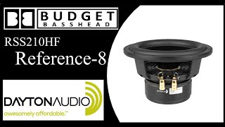 Dayton Audio 8 inch Reference Woofer Flex