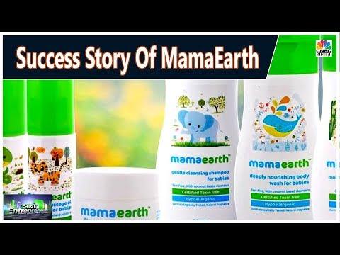 MamaEarth की स्टार्टअप जर्नी   Awaaz Entrepreneur    CNBC Awaaz