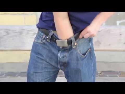Tipps und Tricks für echte Männer - Unterhose ausziehen