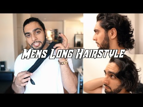 MENS LONG HAIRSTYLE 2018 (How to Grow/Style/Get Rid of Awkward Phase)