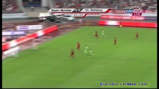 Wolfsburg Early Chance Vs Bayern Munich