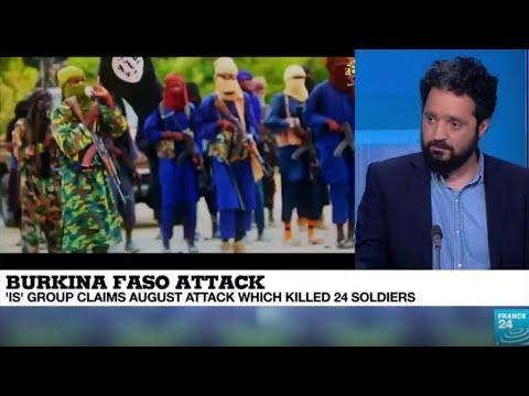 Burkina Faso : Islamic state group claims the Koutougou attack