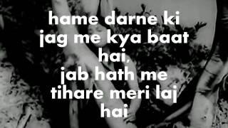 Zara Saamne To Aao Chaliye-Karaoke & Lyrics - YouTube