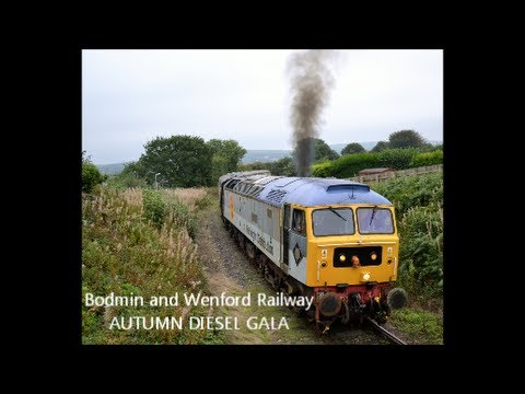 The Bodmin & Wenford Railway Autumn Diesel Gala 28th Septemb…