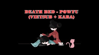 Powfu - death bed (coffee for your head) ft. beabadoobee (Vietsub + Kara) #deathbed