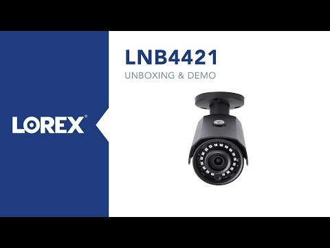 Unboxing of 2K HD outdoor ip camera model LNB4421