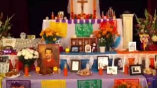 Altar Dia de Muertos - Day of the Dead in La Jolla CA 2010