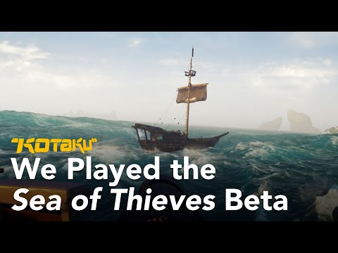 Watch Us Fight Sharks In Sea Of Thieves' Closed Beta