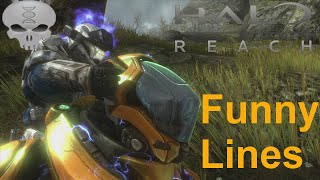 Lines of Halo - Noble Team + Extras (Funny Dialogue) - dooclip.me