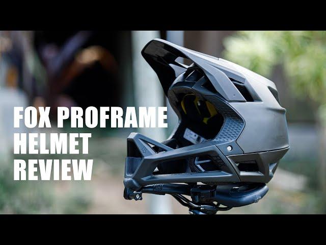Видео Шлем Fox Proframe Helmet (Matte Black)