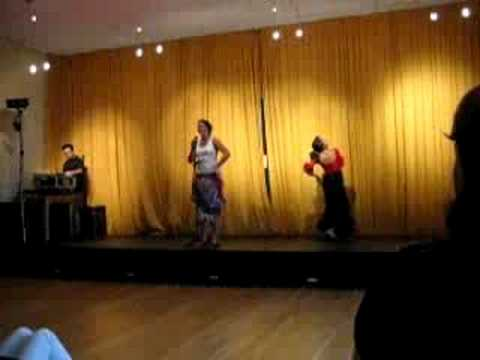 The Oxford English Centre Variety Show 2008 Student Perform