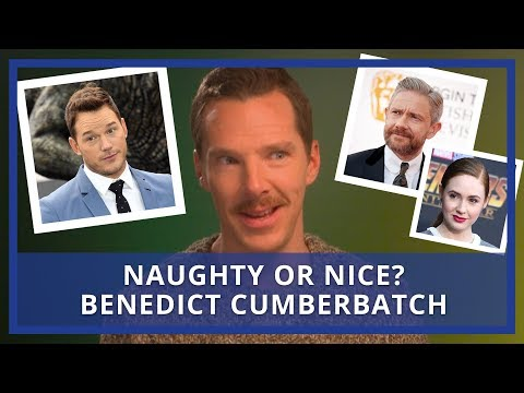 Benedict Cumberbatch Rates His Co-Stars | Naughty Or Nice? (видео)