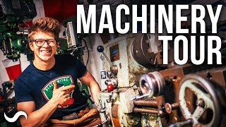 ULTIMATE WORKSHOP TOUR: MACHINING, WELDING, TOOL CART