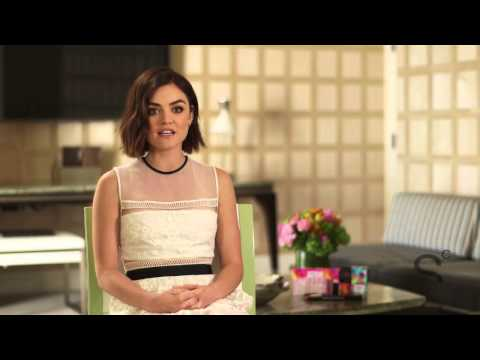 Lucy Hale Talks Pretty Little Liars, Hair Changes & Orange Lipstick